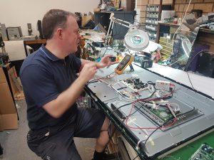 Repairing a TV