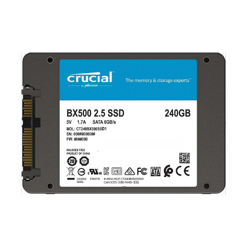 "2.5"" Crucial SSD"
